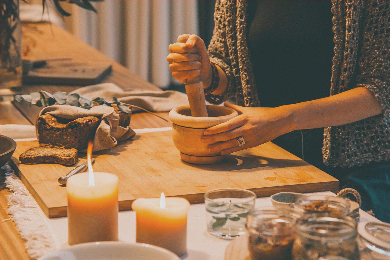 La cocina como ejercicio de atención plena